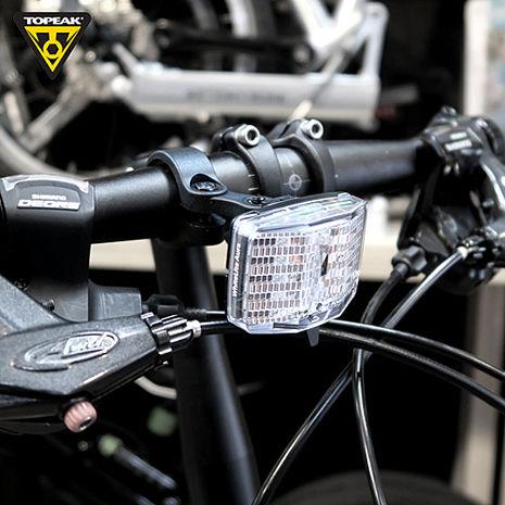 TOPEAK WhiteLite Aura 反光片型警示前燈