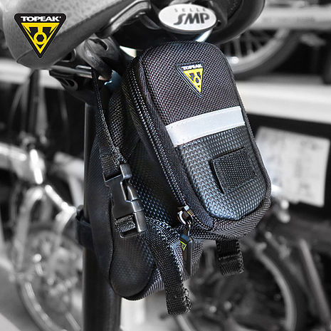 TOPEAK Aero Wedge Pack Small後座墊袋(小) 黑