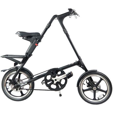 【STRiDA 速立達】16吋LT 年度外銷版折疊單車 碟剎(平光黑)