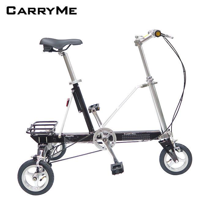 CarryMe CarryAll 8吋單速折疊三輪車-拿鐵棕(巧克力色)