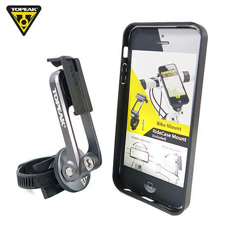 TOPEAK RideCase iPhone 5/5S用 智慧型手機保護殼-黑 (自行車用)