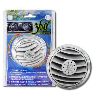 【加購】360度冷氣孔風向循環器2入(汽車/車用/散熱/風扇)