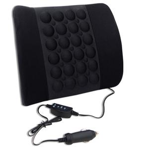 【YARK】磁動式按摩舒適腰靠(車用 腰靠 腰墊 頭枕 頸枕 踏墊)-原價399