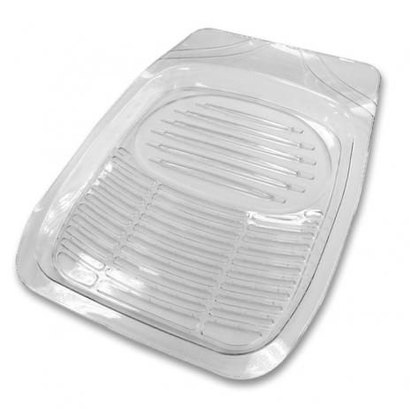【亞克】新款3D踏墊-透明前座(汽車 車用 座墊)