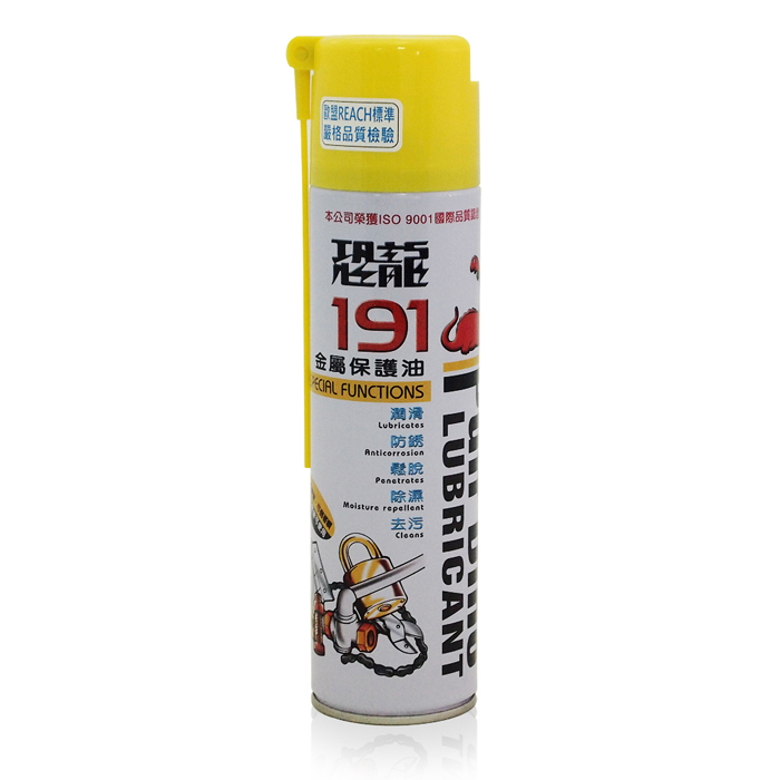 【恐龍】191金屬保護油420ML(汽車|防鏽|潤滑)