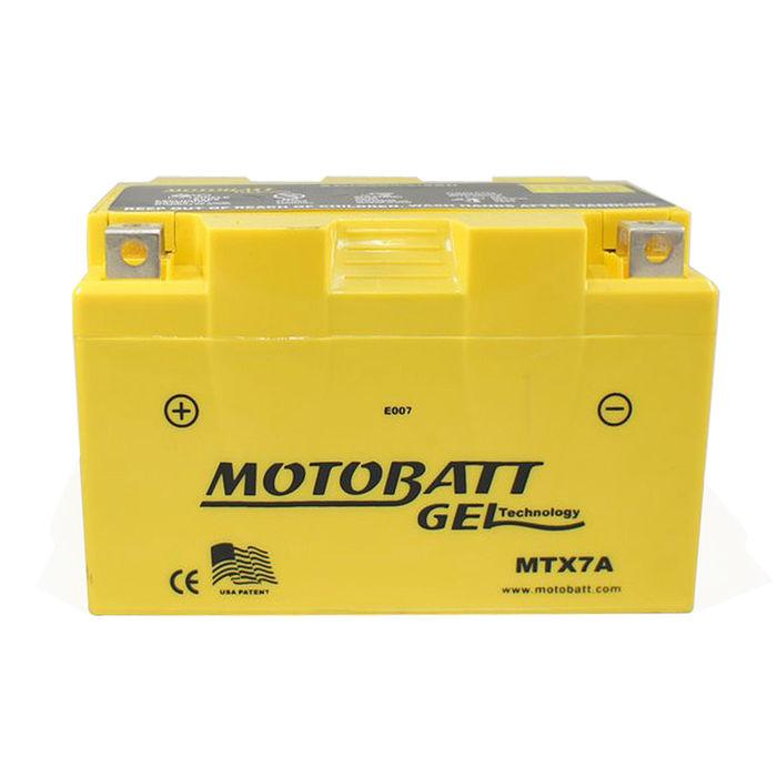 【美國MOTOBATT】MTX7A GEL膠體長效機車電池/電瓶