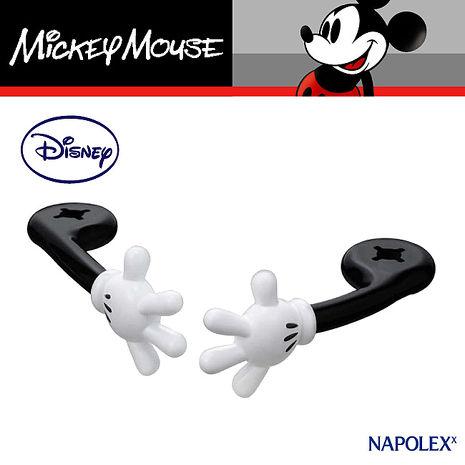 【NAPOLEXx迪士尼】米奇手型頭枕掛勾WD288(汽車︱收納置物︱固定架)