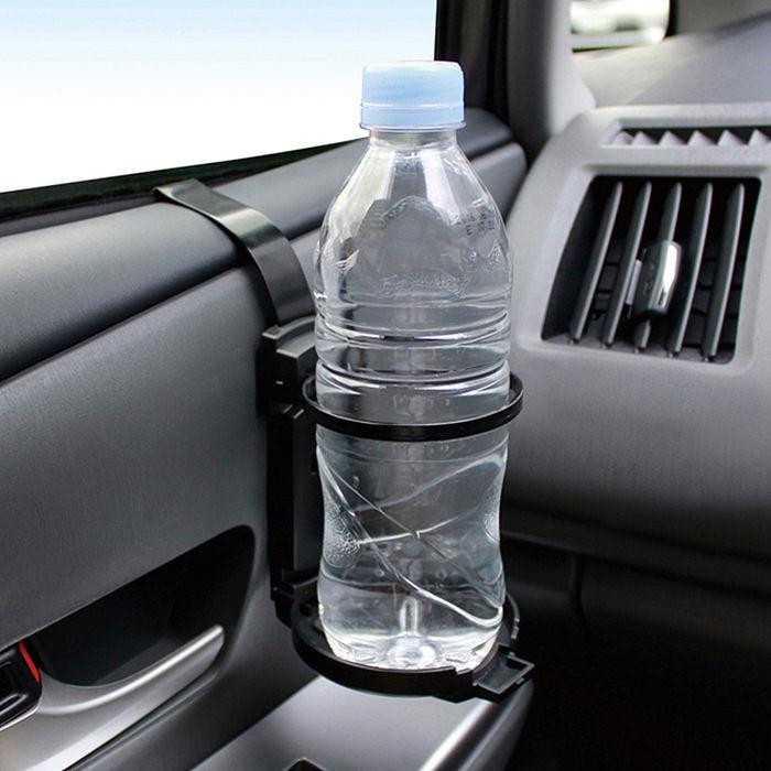 【日本槌屋YAC】收取式單杯架PZ-775 (汽車︱收納置物︱飲料架)