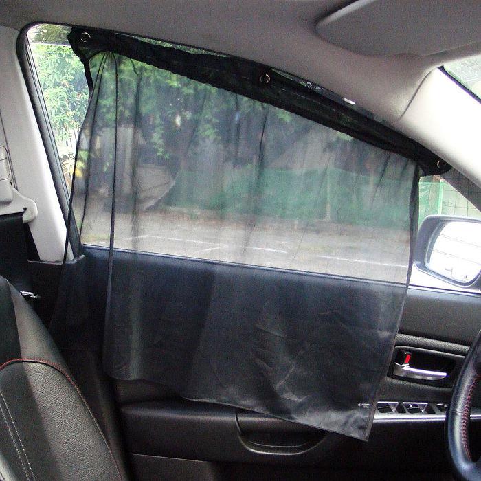 【APP限定】簡易型多功能車用窗簾((汽車︱ 遮陽︱ 隔熱︱ 防曬)