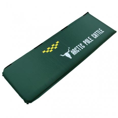 APC《五顆星》特厚自動充氣睡墊-厚8cm-軍綠色