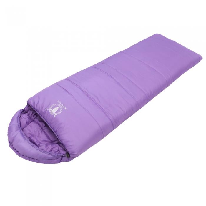 【APC】馬卡龍秋冬可拼接全開式睡袋 (葡萄紫)