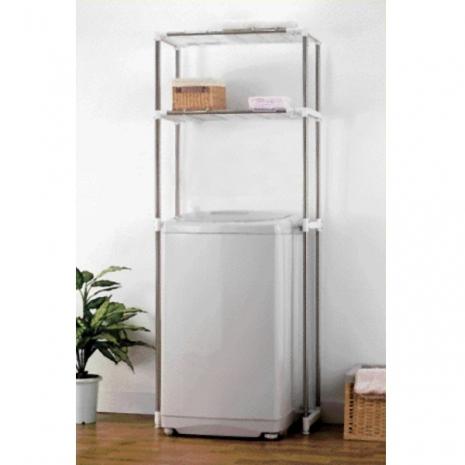 特賣↘【LIFECODE】聰明媽咪-可伸縮多功能置物架/洗衣機置物架/馬桶置物架