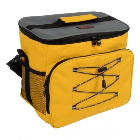 【LIFECODE】歐風保冰袋 (黃色) /保溫袋 /保冷袋 /便當袋