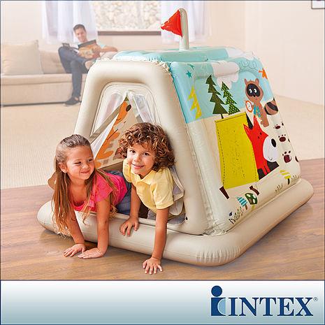 【INTEX】幼童款-室內帳篷/充氣式遊戲帳篷