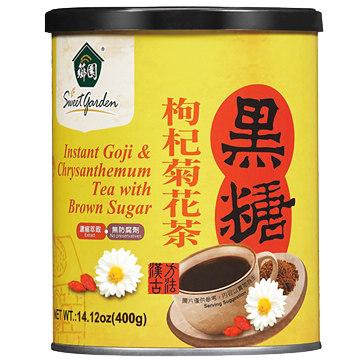 【薌園】黑糖枸杞菊花茶(粉末)(400g) x 4罐