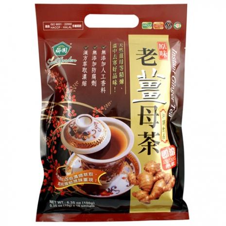 【薌園】原味老薑母茶(勁辣) (10g x 18入) x 10袋