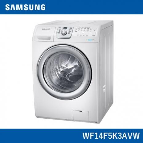 回函贈★《假日下殺95折》【Samsung三星】原裝進口14KG洗脫滾筒洗衣機WF14F5K3AVW/TW