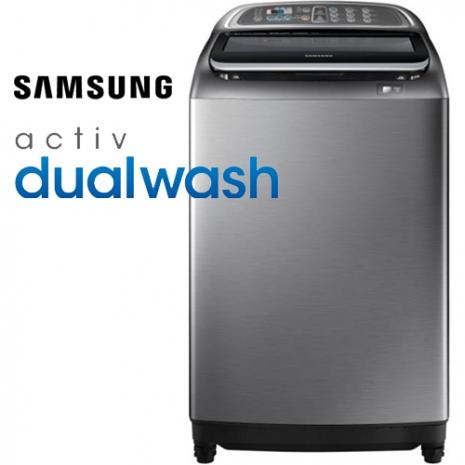 《假日下殺95折》Samsung 三星13KG直立式雙效手洗洗衣機WA13J5750SP/TW
