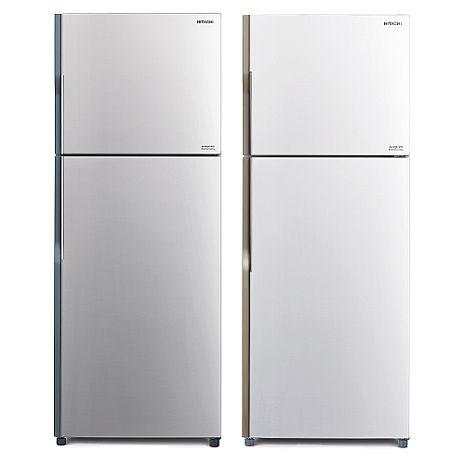 回函贈★日立 HITACHI 381L雙門變頻電冰箱 RV399典雅銀