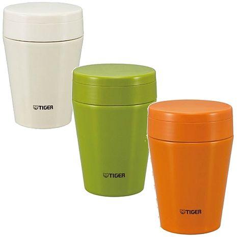 【TIGER虎牌】380cc不鏽鋼真空食物罐(MCC-C038)橄欖綠