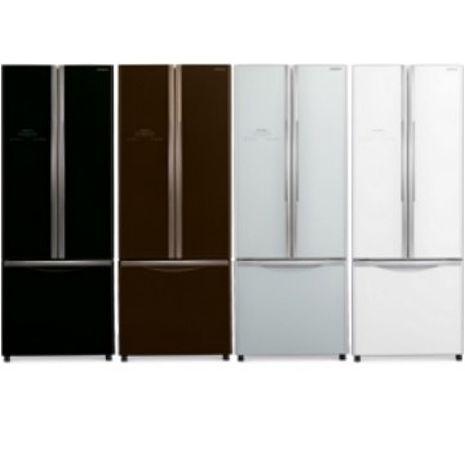 回函贈★HITACHI 日立 421L靜音變頻三門對開冰箱 RG430琉璃棕