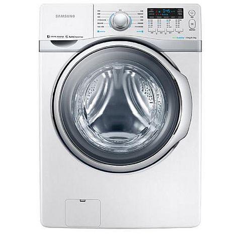 ★結帳再折★Samsung 三星 15公斤雙效威力淨洗脫烘滾筒洗衣機 (WD15H7300KW/TW)