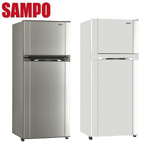 SAMPO 聲寶455公升定頻節能冰箱 SR-M46G(W2)(S2)白色系(W2)