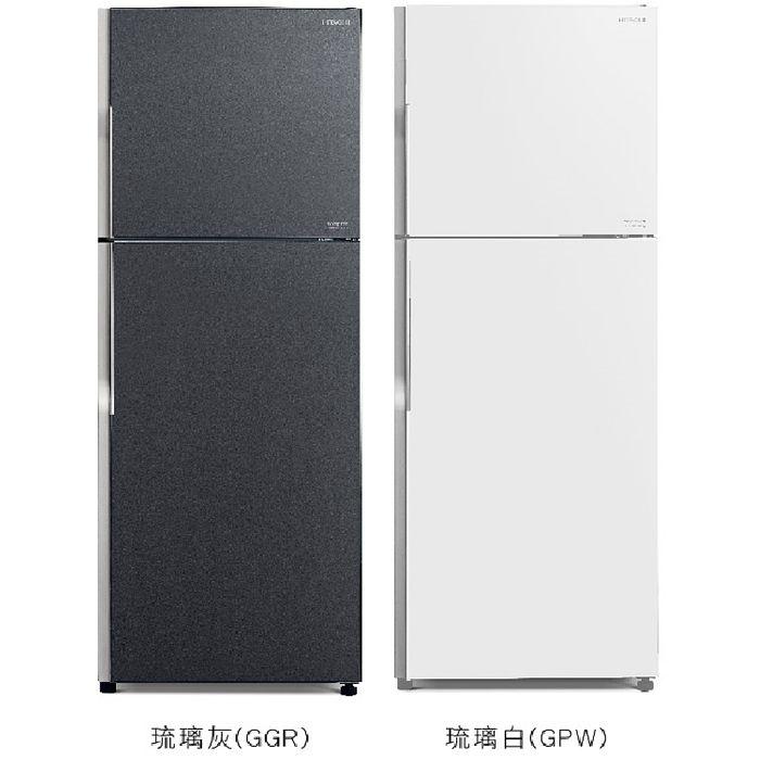 ★加碼贈好禮★【HITACHI 日立】414公升變頻雙門冰箱 RG439