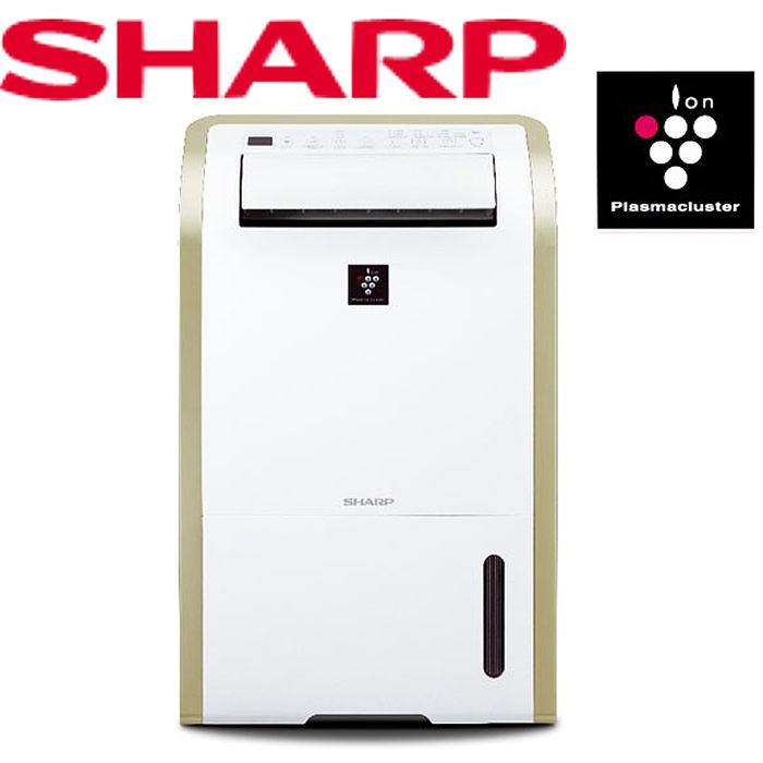 夏普 SHARP 13公升清淨除濕機 DW-E13HT-W