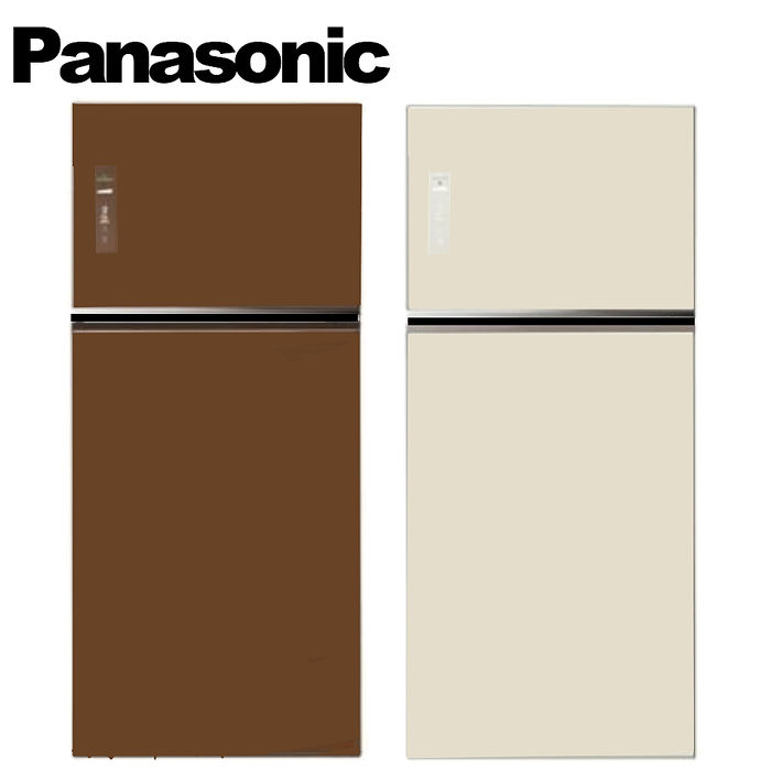 ★加碼贈好禮★Panasonic 國際牌 579L ECONAVI 變頻雙門冰箱 (NR-B588TG-T/NR-B588TG-N)翡翠金