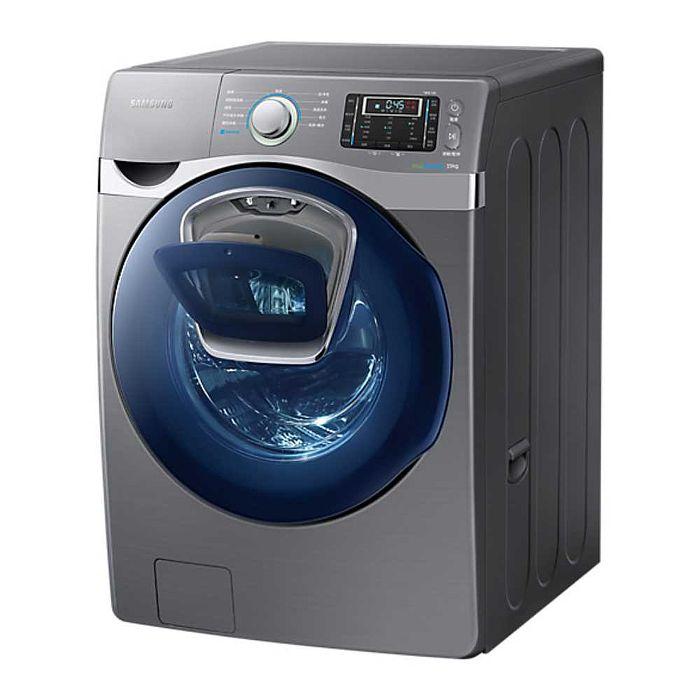 《夜間下殺白天消失》Samsung 三星19公斤 AddWash 潔徑門滾筒洗衣機-魔力銀 WF19J9800KP/TW