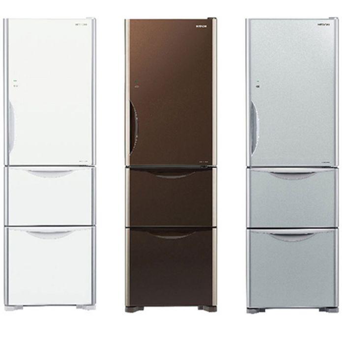 回函贈★【HITACHI 日立】 331公升變頻三門電冰箱 RG36A琉璃瓷
