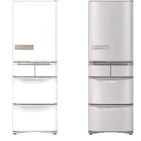 回函贈★【日立HITACHI】 401L日製變頻電冰箱 RS42GJ香檳不銹鋼