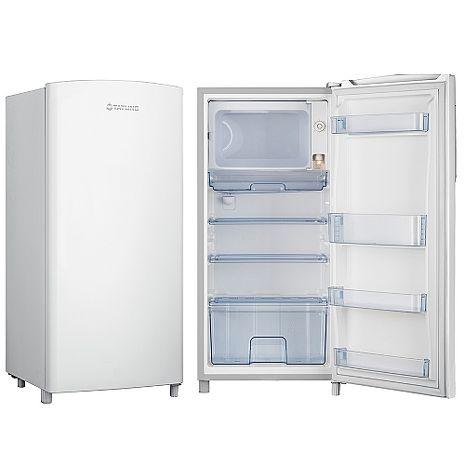 大同150公升省電單門冰箱TR-150HT-W (夢幻白)《150公升大容量不輸R1061LA/R1061SC小鮮綠》