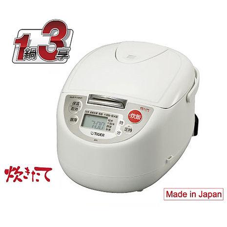 【TIGER虎牌】10人份1鍋3享多功能電子鍋 JBA-A18R