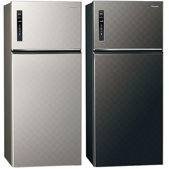 送贈品★Panasonic國際牌變頻雙門電冰箱579公升NR-B589TV銀河灰