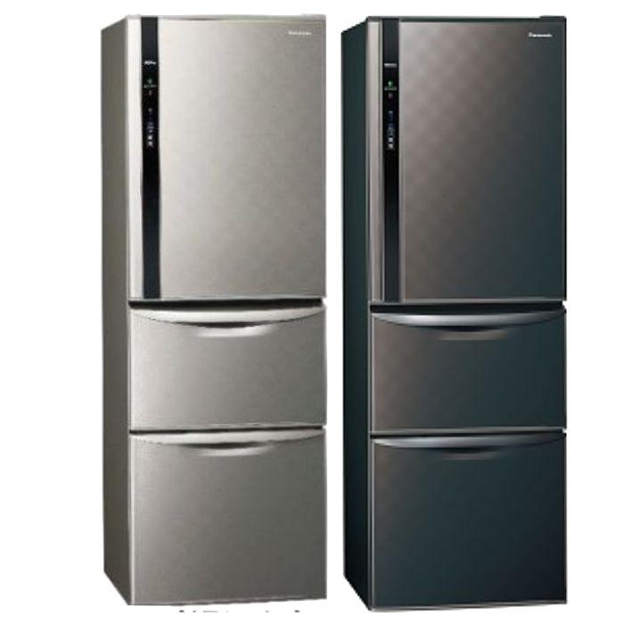 送贈品★Panasonic國際牌變頻三門電冰箱385公升 NR-C389HV星空黑