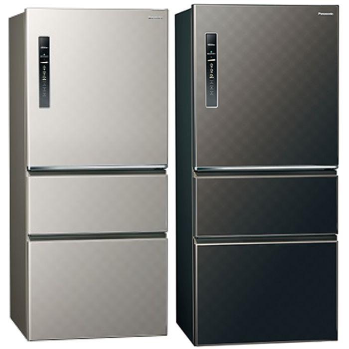 Panasonic國際牌變頻三門電冰箱610公升NR-C619HV-S/NR-C619HV-K星空黑