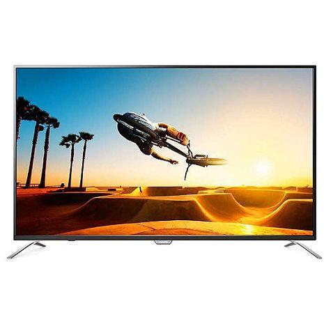 【PHILIPS 飛利浦】49吋4K超纖薄聯網LED顯示器+視訊盒 49PUH7032