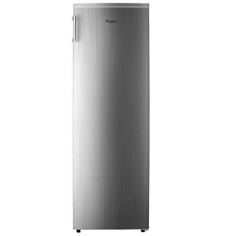 【Whirlpool 惠而浦】193L直立式冰櫃 鈦金鋼 WIF1193G