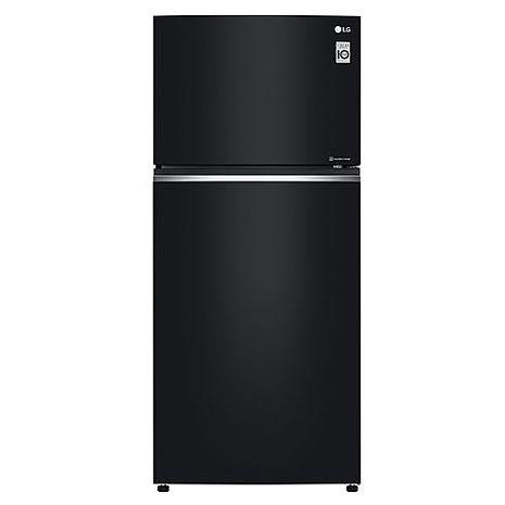 送陶板屋餐券2張★LG樂金525L直驅變頻上下門冰箱/ 時尚黑 GN-HL567GB(冰箱特賣)