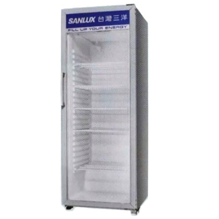 【SANLUX台灣三洋】400公升直立式冷藏櫃 SRM-400