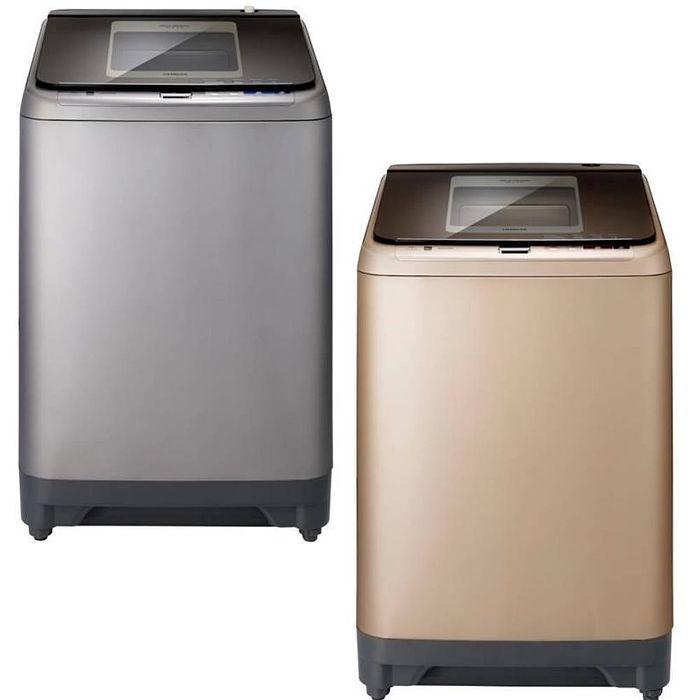 回函贈★HITACHI 日立 16KG 直立式洗衣機SF160XBV香檳金CH