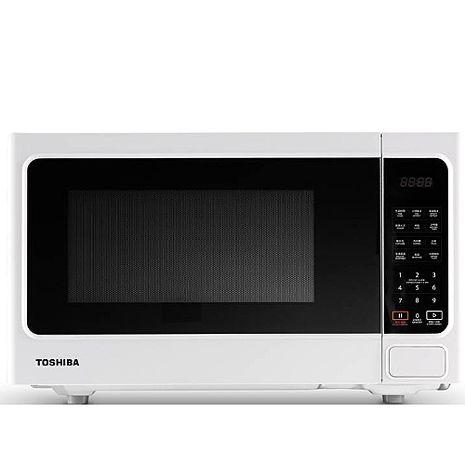 【TOSHIBA 東芝】微電腦料理微波爐 (20L) ER-SS20(W)TW 福利品