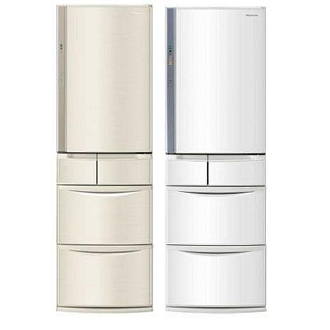 Panasonic 國際牌 411公升五門變頻電冰箱日本製(NR-E414VT-N1/NR-E414VT-W1)(不參加原廠贈品活動)(冰箱特賣)