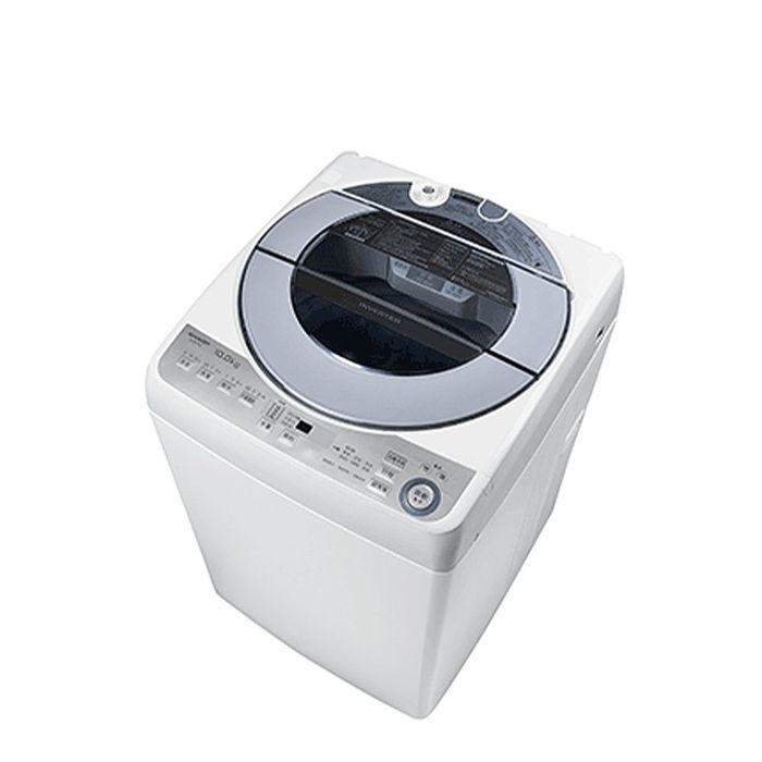 分享送500元★加碼送陶板屋餐券4張★SHARP夏普10公斤變頻無孔槽洗衣機ES-ASF10T