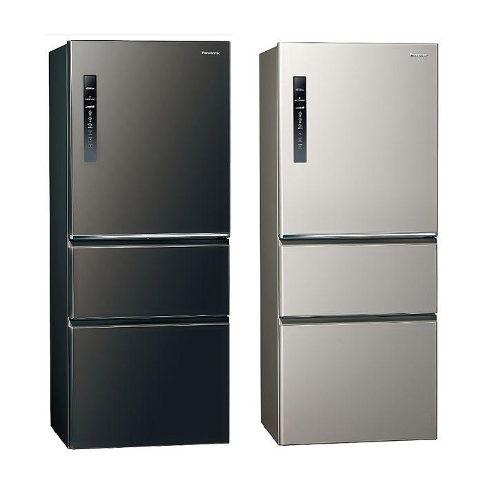 Panasonic國際牌500公升三門變頻鋼板冰箱NR-C501XV-L/NR-C501XV-V
