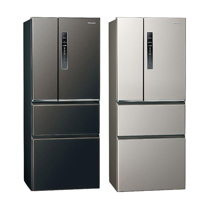 Panasonic國際牌500公升四門變頻鋼板冰箱NR-D501XV-L/NR-D501XV-V