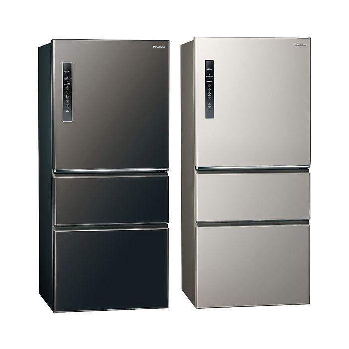 Panasonic國際牌610公升三門變頻鋼板冰箱NR-C611XV-L/NR-C611XV-V
