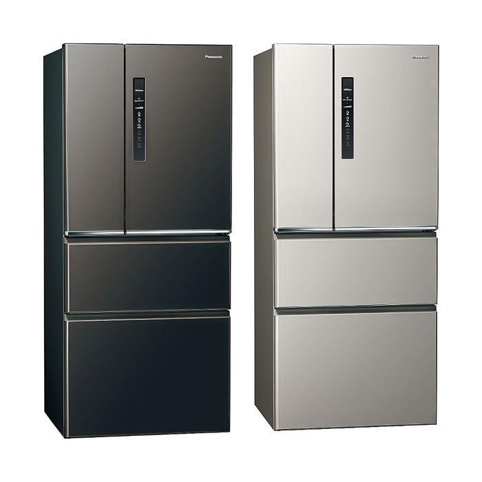 Panasonic國際牌610公升四門變頻鋼板冰箱NR-D611XV-L/NR-D611XV-V